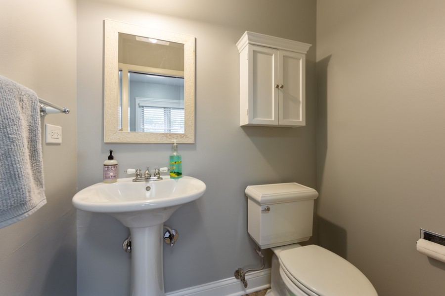 Real Estate Photography - 1611 N Douglas Ave, Arlington Heights, IL, 60004 - Powder Room