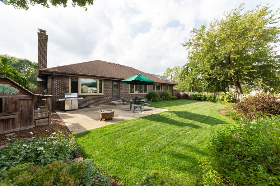 Real Estate Photography - 1611 N Douglas Ave, Arlington Heights, IL, 60004 - Rear View