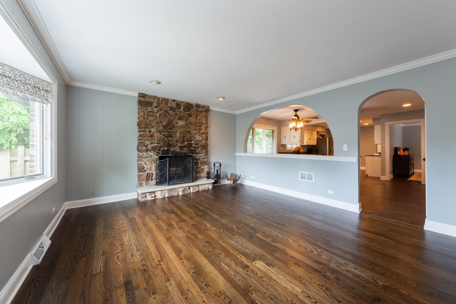 Real Estate Photography - 1611 N Douglas Ave, Arlington Heights, IL, 60004 - Family Room / Kitchen