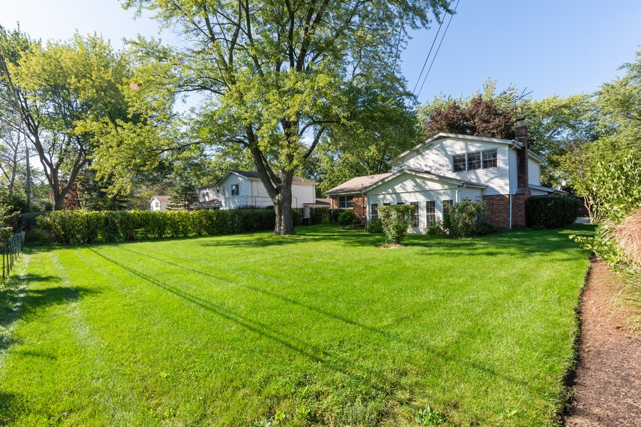 Real Estate Photography - 2035 E Mulberry Ln, Arlington Heights, IL, 60004 - Rear View
