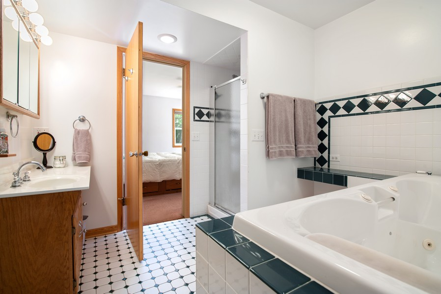 Real Estate Photography - 26582 W Stonegate, Antioch, IL, 60002 - Master Bathroom