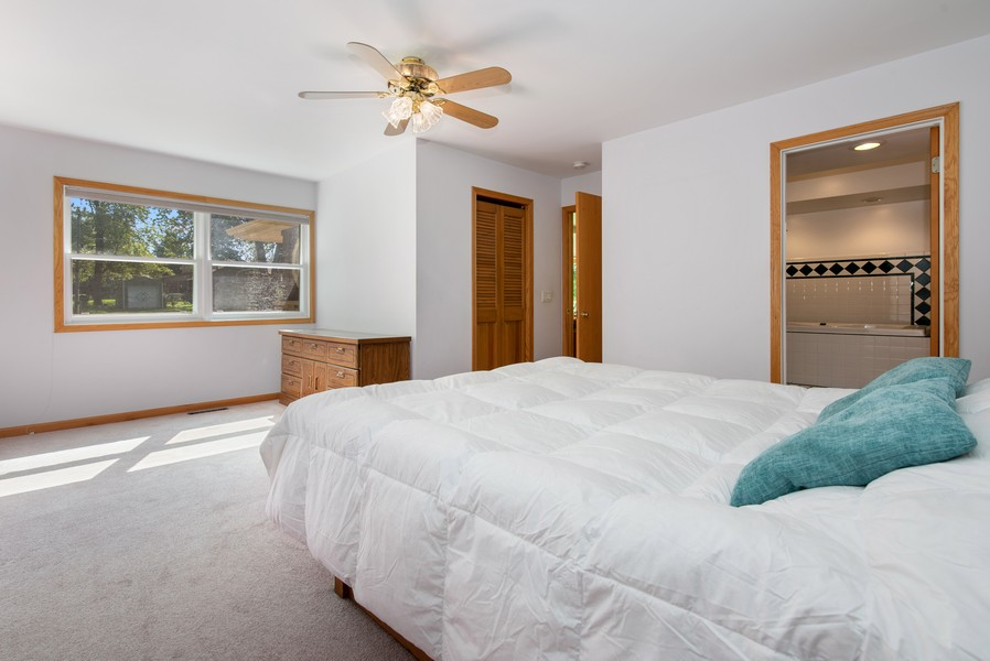 Real Estate Photography - 26582 W Stonegate, Antioch, IL, 60002 - Master Bedroom
