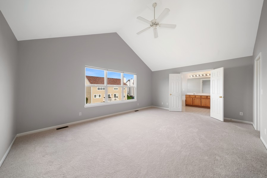 Real Estate Photography - 1361 Boxwood Drive, Crystal Lake, IL, 60014 - Master Bedroom