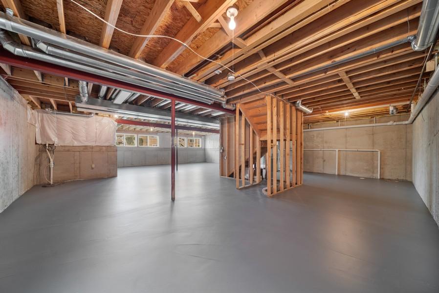 Real Estate Photography - 1361 Boxwood Drive, Crystal Lake, IL, 60014 - Basement