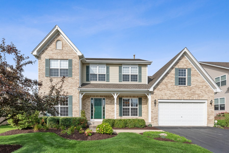 Real Estate Photography - 1361 Boxwood Drive, Crystal Lake, IL, 60014 - Front View