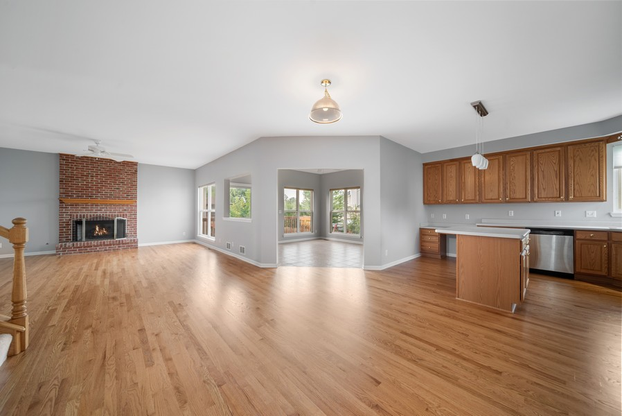 Real Estate Photography - 1361 Boxwood Drive, Crystal Lake, IL, 60014 - Living Room / Dining Room