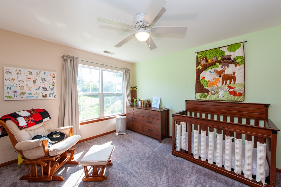 Real Estate Photography - 106 Terra Vista Ct, Volo, IL, 60020 - 2nd Bedroom