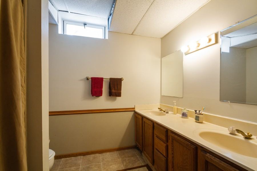 Real Estate Photography - 6191 Shattuck, Belvidere, IL, 61008 - 2nd Bathroom