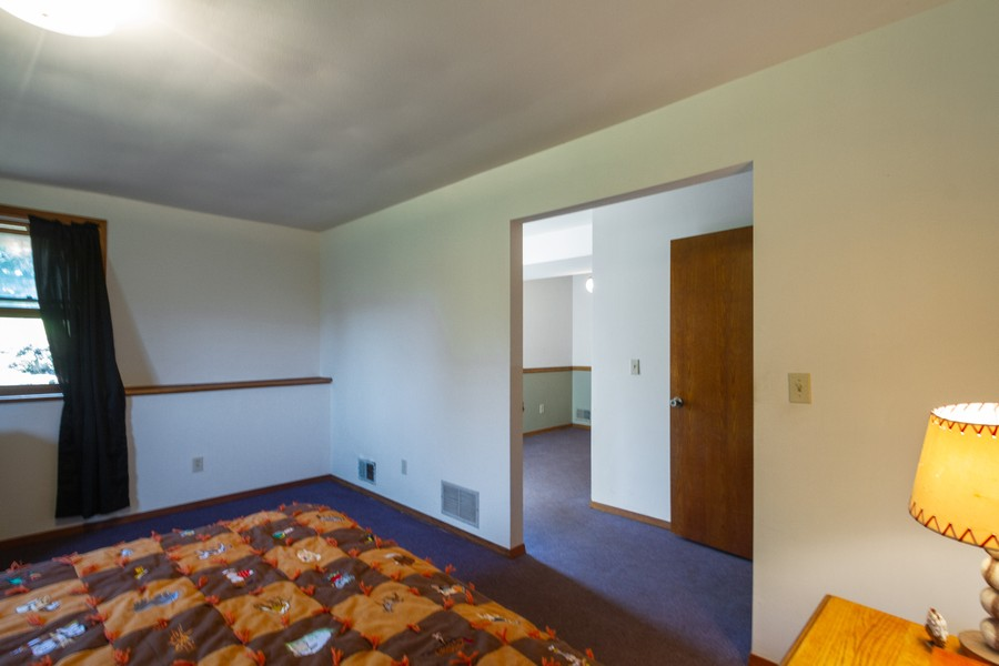 Real Estate Photography - 6191 Shattuck, Belvidere, IL, 61008 - Bedroom Suite with sitting room