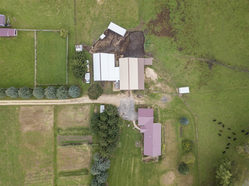 Real Estate Photography - 6191 Shattuck, Belvidere, IL, 61008 - Aerial View