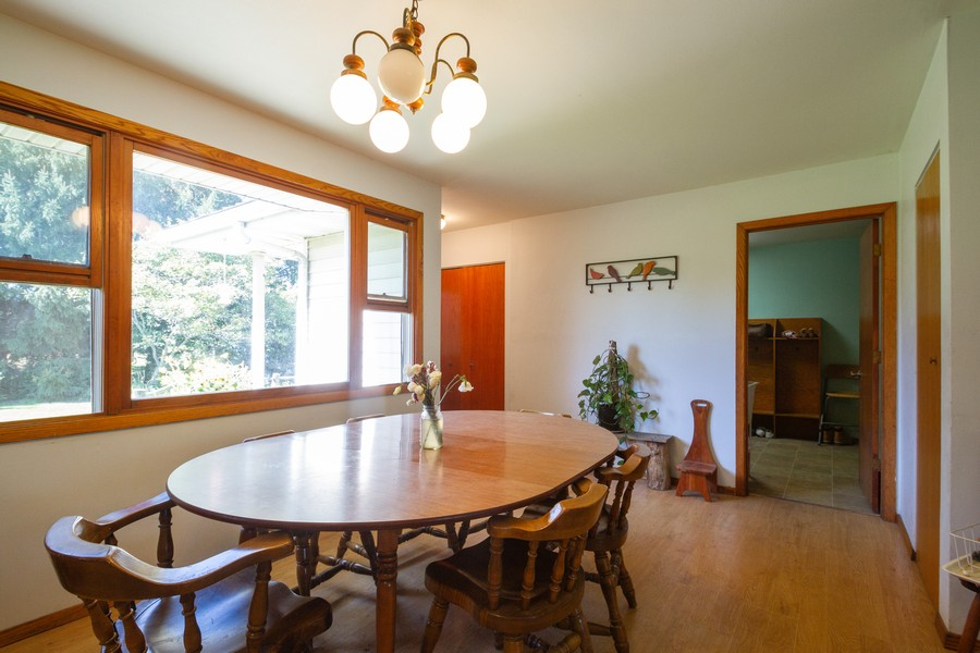 Real Estate Photography - 6191 Shattuck, Belvidere, IL, 61008 - Dining Room