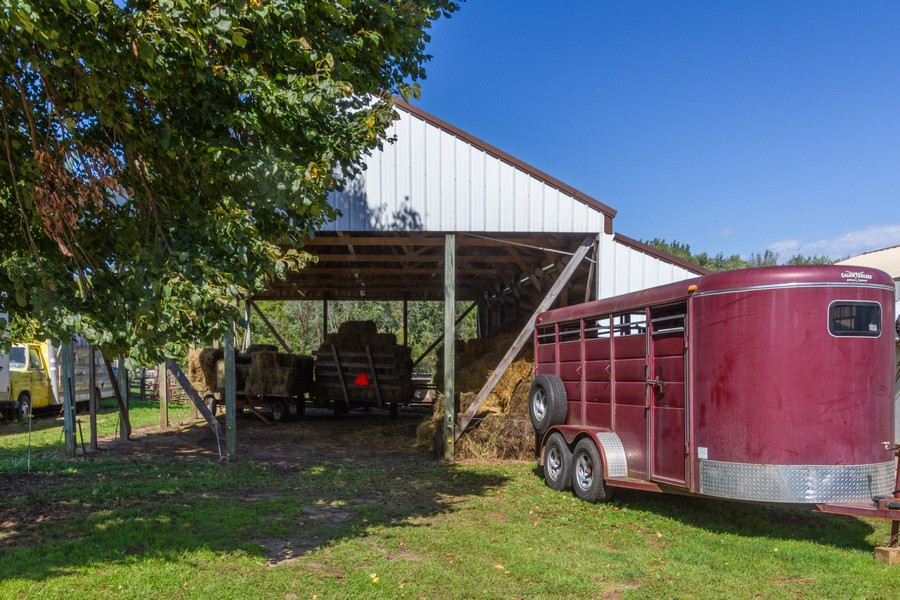 Real Estate Photography - 6191 Shattuck, Belvidere, IL, 61008 - Covered Storage Area and Lean too