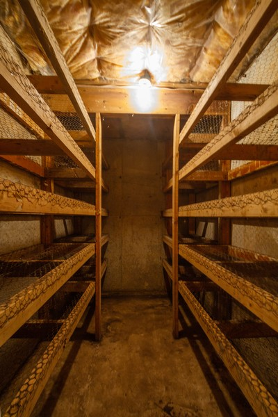 Real Estate Photography - 6191 Shattuck, Belvidere, IL, 61008 - Root Cellar