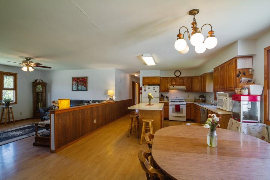 Real Estate Photography - 6191 Shattuck, Belvidere, IL, 61008 - Open Floor Plan