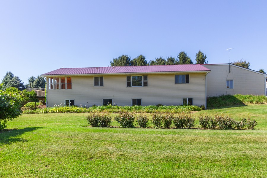Real Estate Photography - 6191 Shattuck, Belvidere, IL, 61008 - Rear View