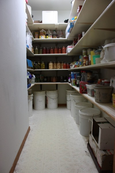 Real Estate Photography - 6191 Shattuck, Belvidere, IL, 61008 - 1st Floor Pantry Storage