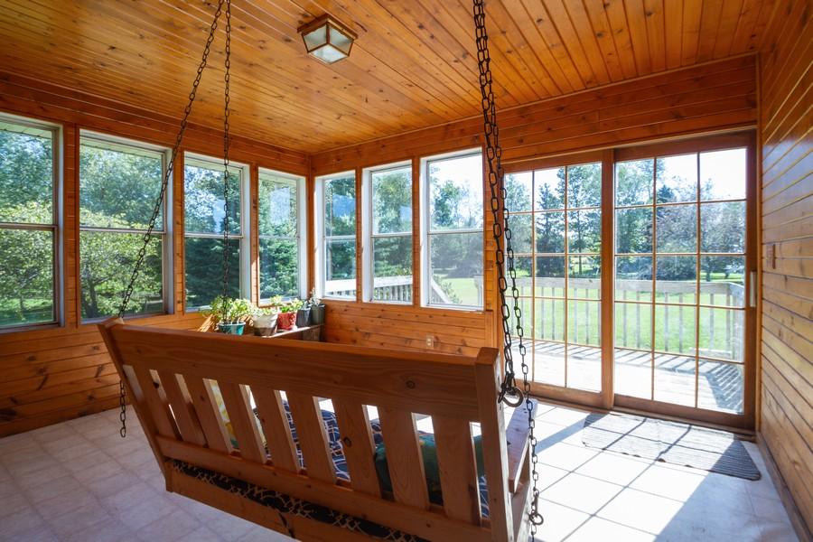 Real Estate Photography - 6191 Shattuck, Belvidere, IL, 61008 - Sun Room
