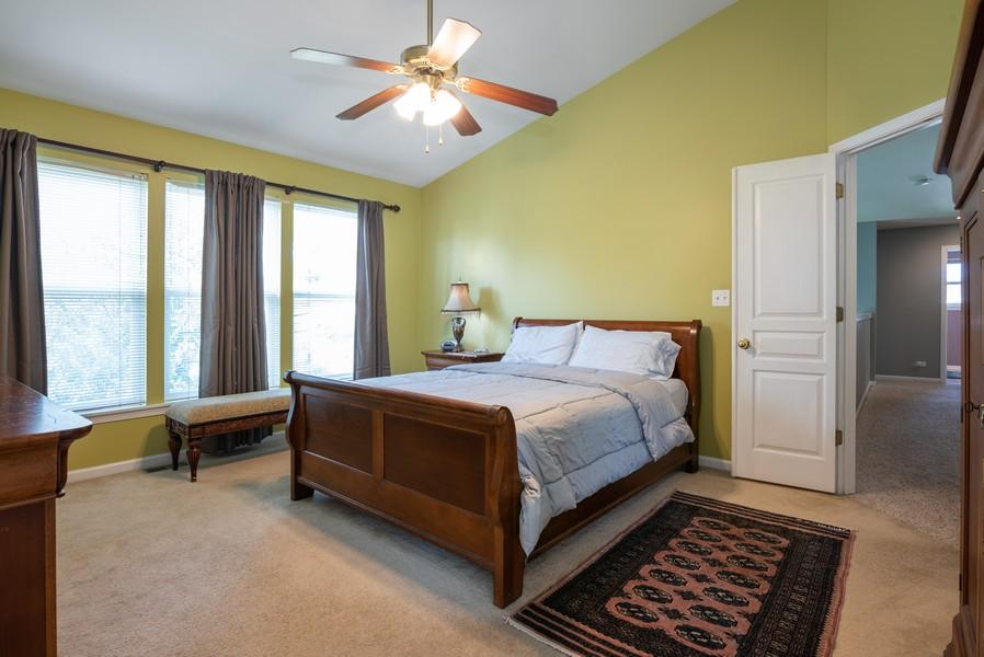 Real Estate Photography - 450 Brookside Avenue, Algonquin, IL, 60102 - Master Bedroom