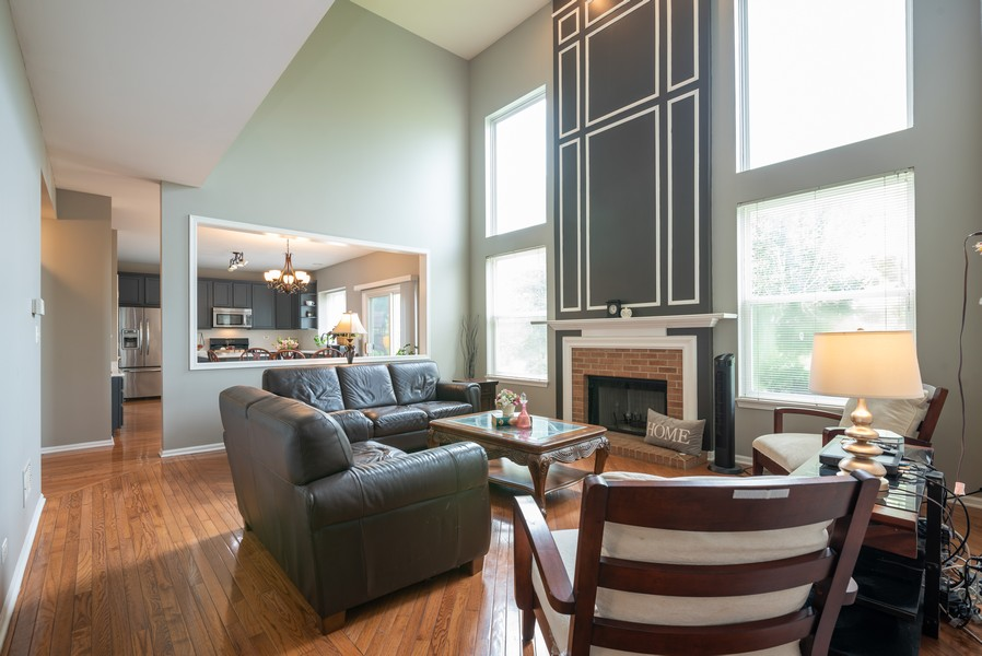 Real Estate Photography - 450 Brookside Avenue, Algonquin, IL, 60102 - Family Room