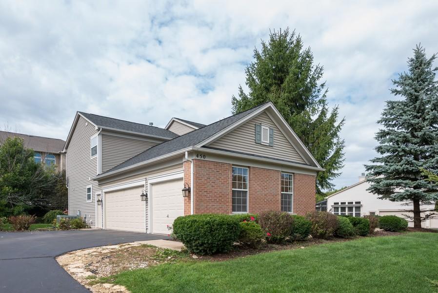 Real Estate Photography - 450 Brookside Avenue, Algonquin, IL, 60102 - Garage