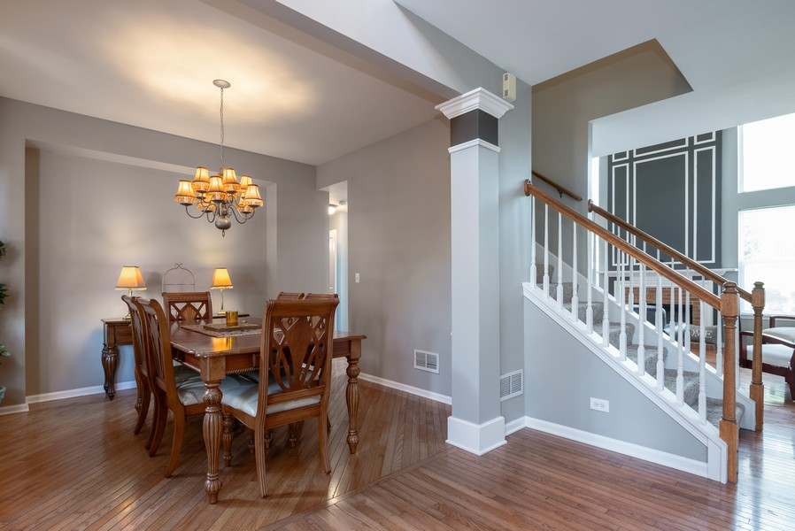 Real Estate Photography - 450 Brookside Avenue, Algonquin, IL, 60102 - Dining Room