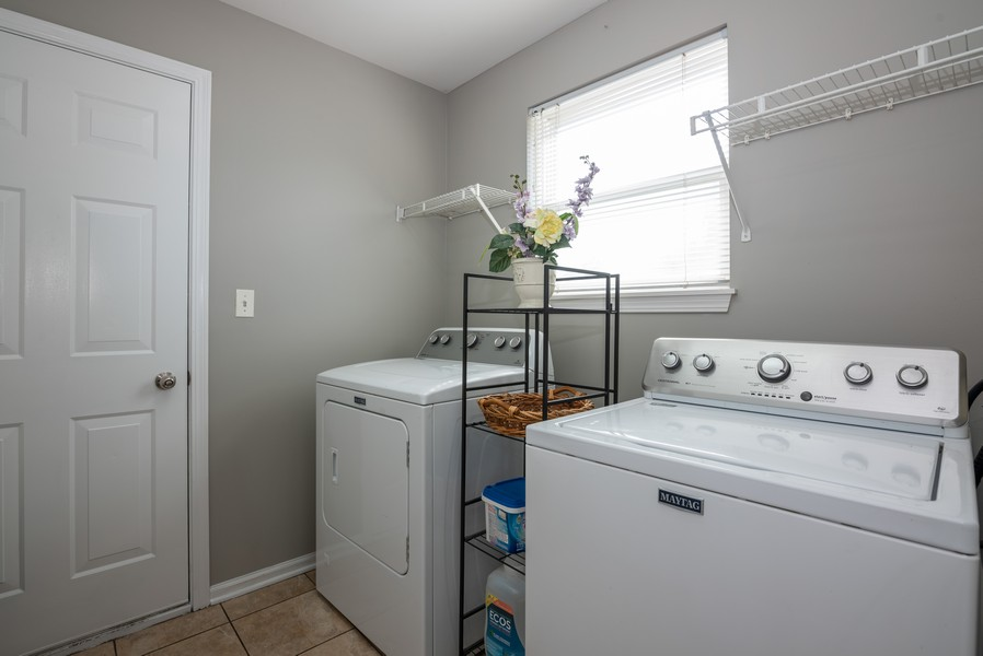 Real Estate Photography - 450 Brookside Avenue, Algonquin, IL, 60102 - Laundry Room