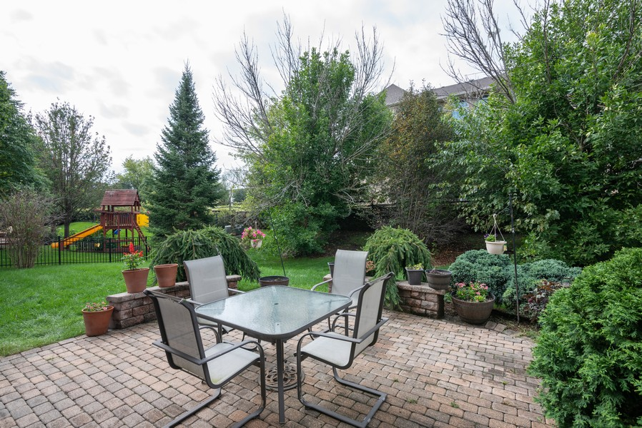 Real Estate Photography - 450 Brookside Avenue, Algonquin, IL, 60102 - Patio