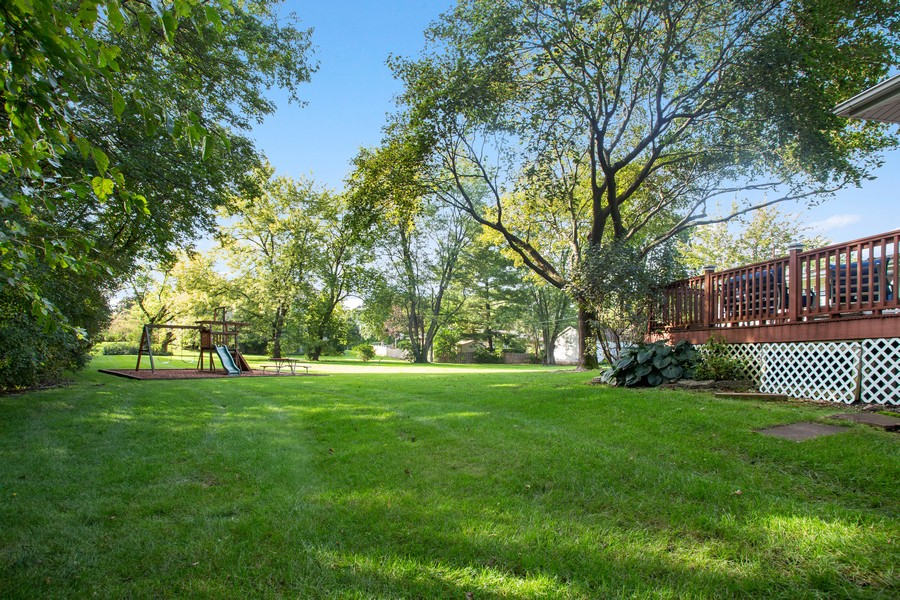 Real Estate Photography - 7 S Rob Road, Mount Prospect, IL, 60056 - Back Yard