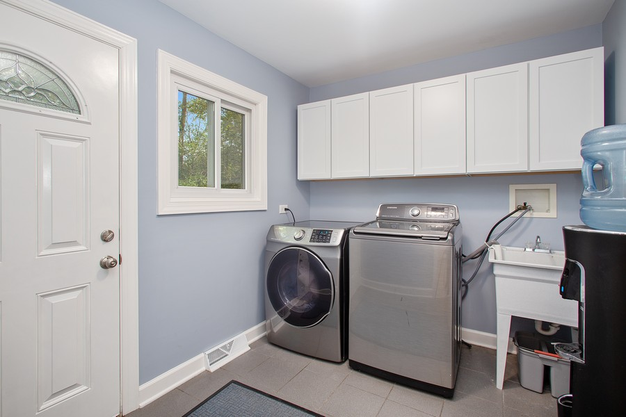 Real Estate Photography - 7 S Rob Road, Mount Prospect, IL, 60056 - Laundry Room