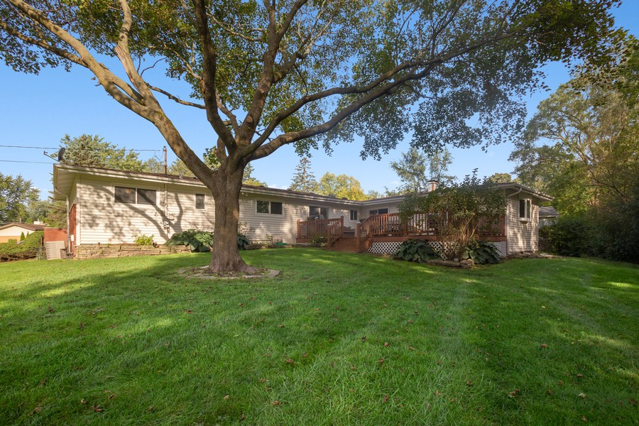 Real Estate Photography - 7 S Rob Road, Mount Prospect, IL, 60056 - Rear View