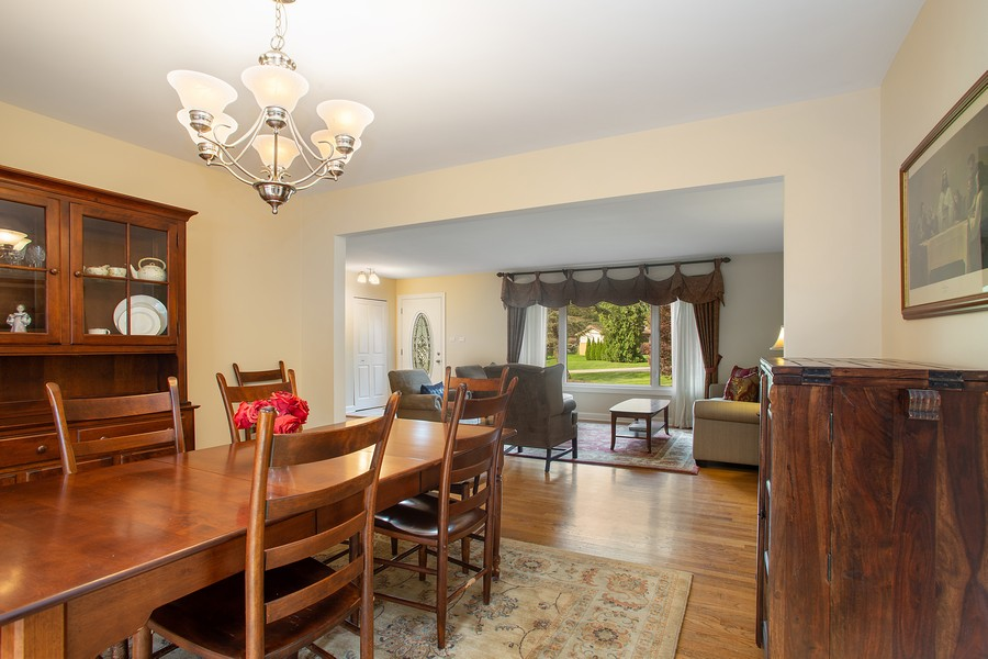 Real Estate Photography - 7 S Rob Road, Mount Prospect, IL, 60056 - Living Room / Dining Room