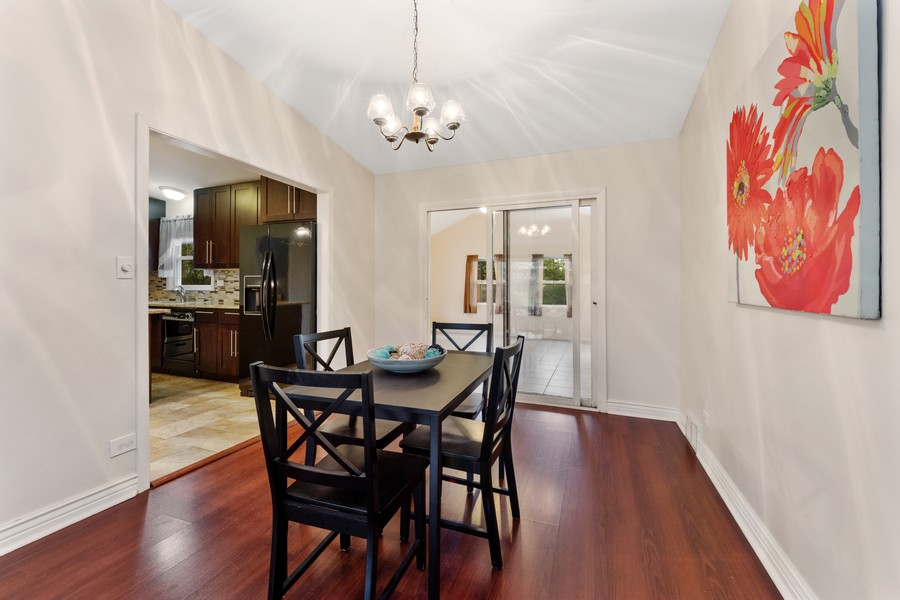 Real Estate Photography - 1505 E. Rosehill Dr., Arlington Heights, IL, 60004 - Dining Room