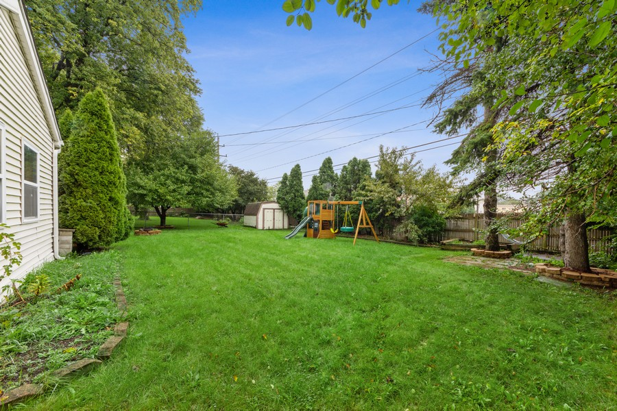 Real Estate Photography - 1505 E. Rosehill Dr., Arlington Heights, IL, 60004 - Back Yard