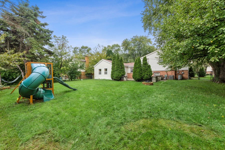 Real Estate Photography - 1505 E. Rosehill Dr., Arlington Heights, IL, 60004 - Rear View