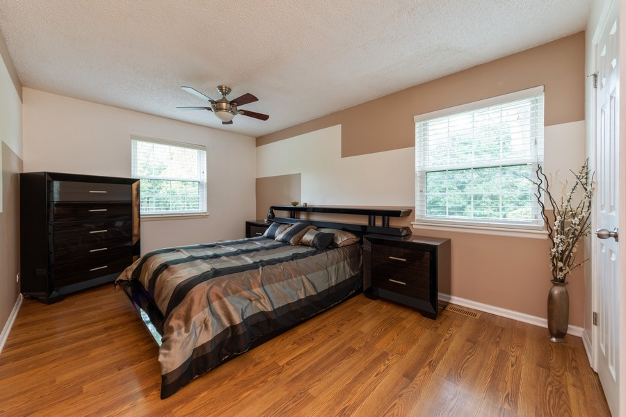 Real Estate Photography - 602 Hapsfield Lane, Buffalo Grove, IL, 60067 - Master Bedroom