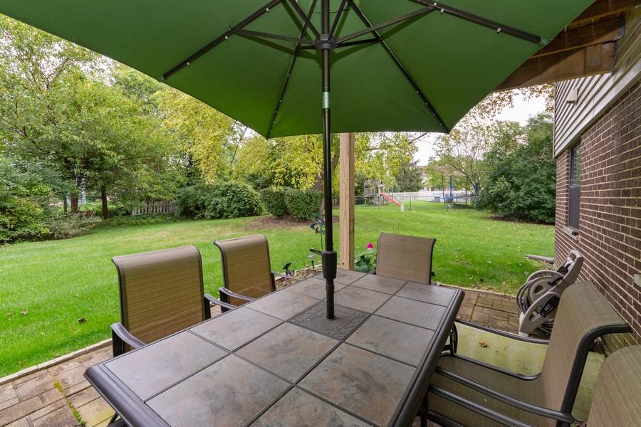 Real Estate Photography - 602 Hapsfield Lane, Buffalo Grove, IL, 60067 - Patio