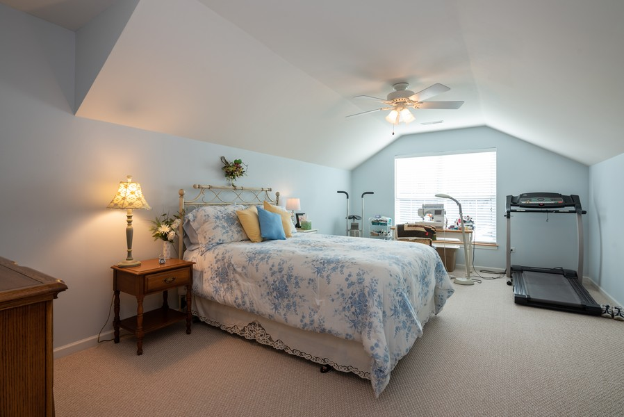 Real Estate Photography - 1031 Broadmoor, Elgin, IL, 60124 - 2nd Bedroom
