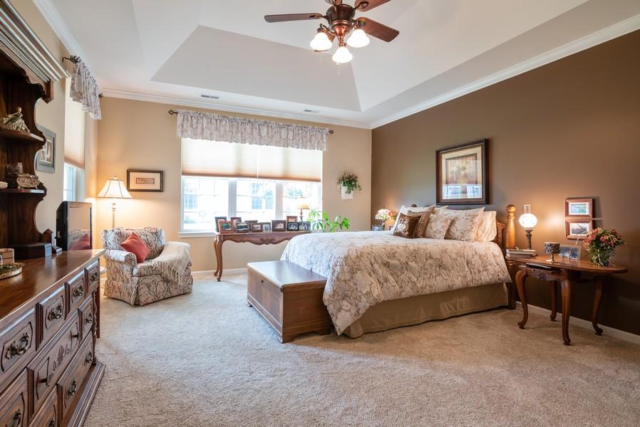 Real Estate Photography - 1031 Broadmoor, Elgin, IL, 60124 - Master Bedroom