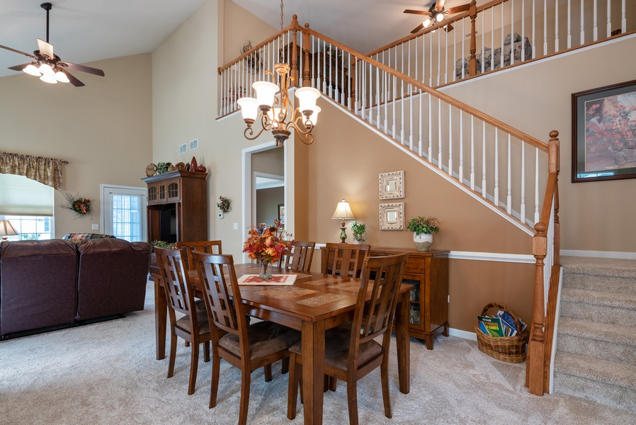 Real Estate Photography - 1031 Broadmoor, Elgin, IL, 60124 - Dining Room