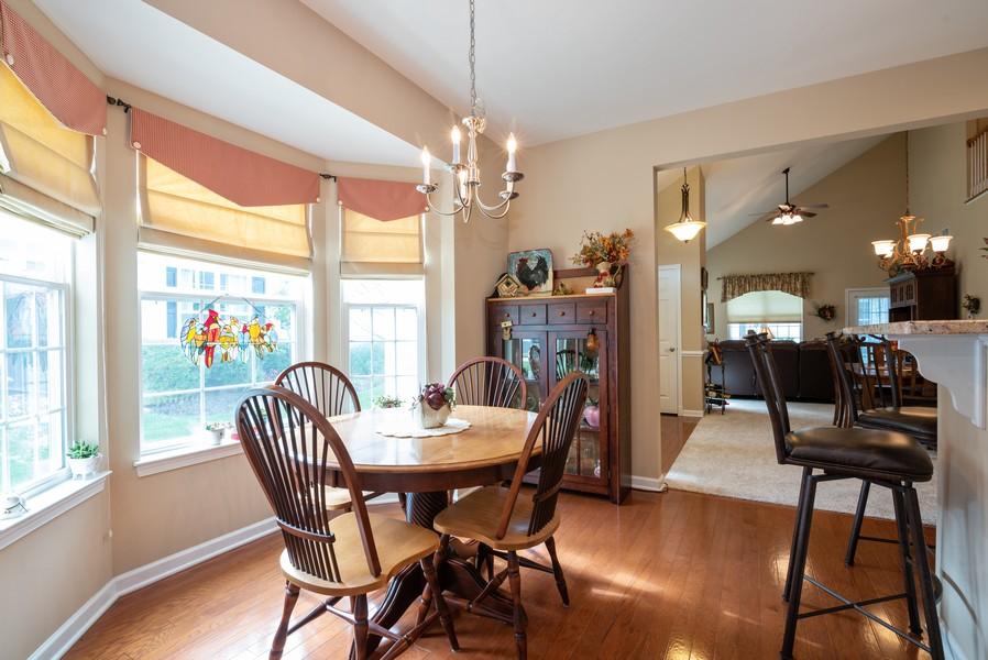 Real Estate Photography - 1031 Broadmoor, Elgin, IL, 60124 - Breakfast Area