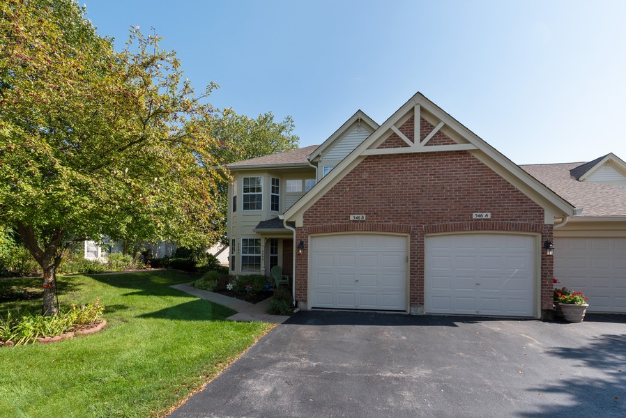 Real Estate Photography - 546 Portsmith Ct, Unit A, Crystal Lake, IL, 60014 - Front View