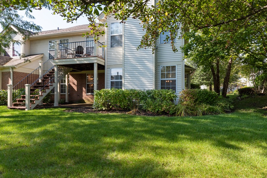 Real Estate Photography - 546 Portsmith Ct, Unit A, Crystal Lake, IL, 60014 - Rear View