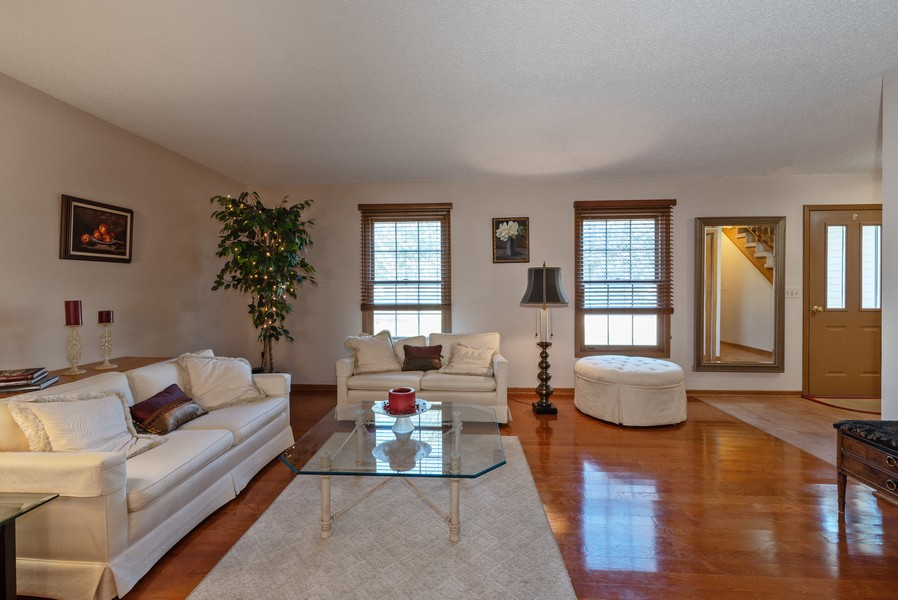 Real Estate Photography - 980 Ridgewood, Crystal Lake, IL, 60014 - Living Room