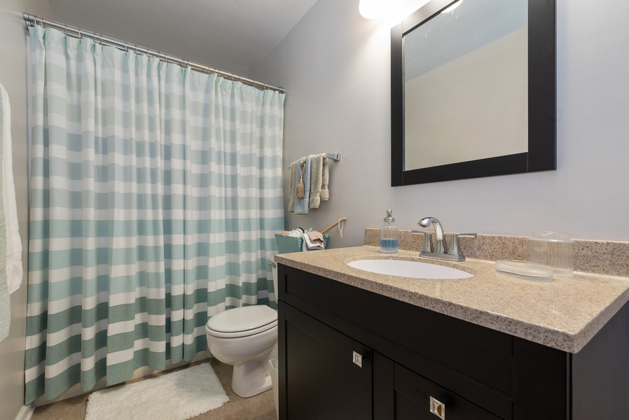 Real Estate Photography - 980 Ridgewood, Crystal Lake, IL, 60014 - Master Bathroom