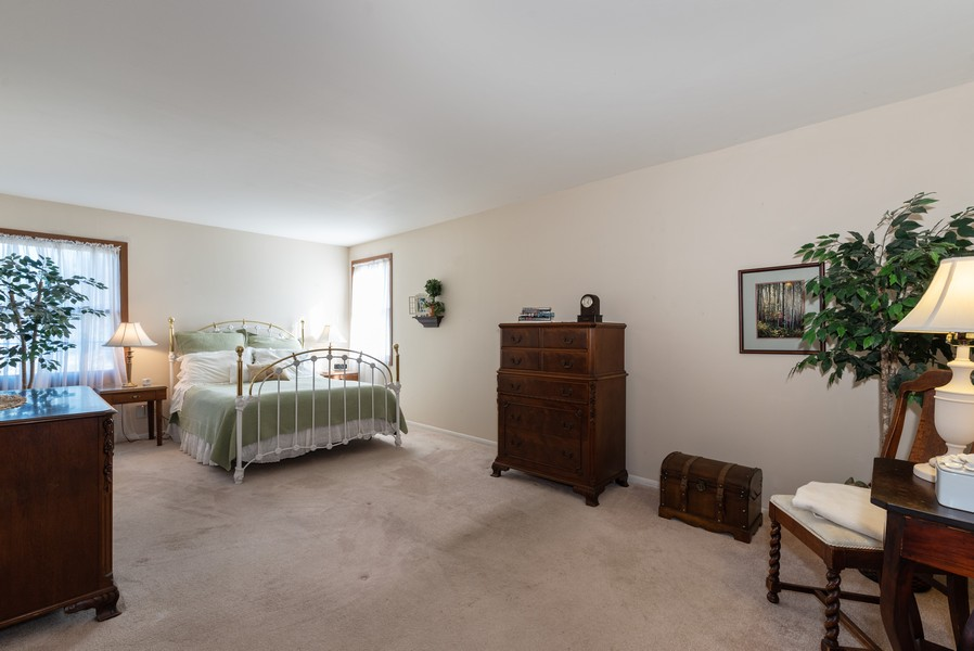 Real Estate Photography - 980 Ridgewood, Crystal Lake, IL, 60014 - Master Bedroom