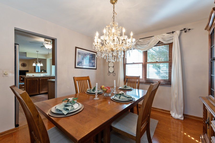 Real Estate Photography - 980 Ridgewood, Crystal Lake, IL, 60014 - Dining Room