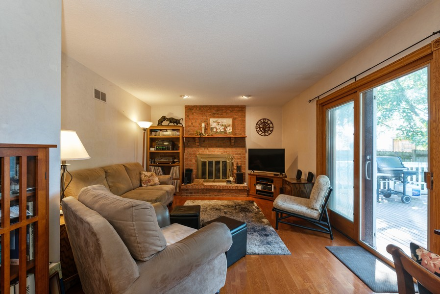 Real Estate Photography - 980 Ridgewood, Crystal Lake, IL, 60014 - Family Room