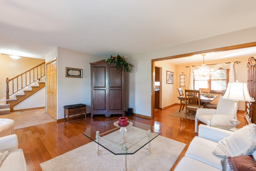 Real Estate Photography - 980 Ridgewood, Crystal Lake, IL, 60014 - Living Room / Dining Room