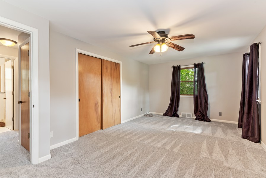 Real Estate Photography - 7404 Chesterfield Rd, Crystal Lake, IL, 60012 - Master Bedroom