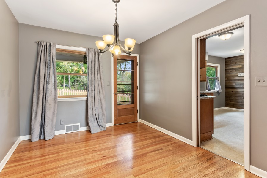 Real Estate Photography - 7404 Chesterfield Rd, Crystal Lake, IL, 60012 - Dining Room